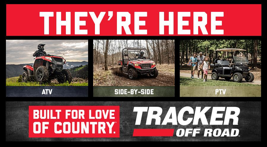 TRACKER OFF ROAD Is Here!